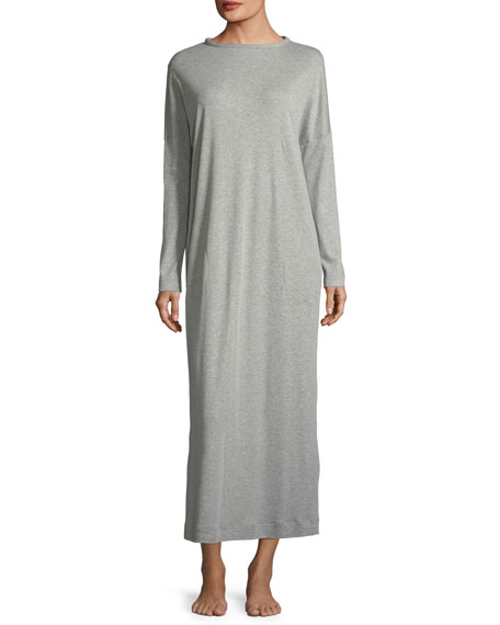 Hanro Enie Long-Sleeve Cotton Nightgown