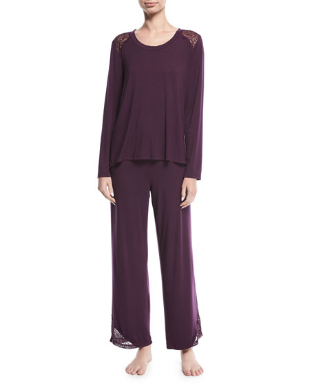 Fleur't City Lights Long Pajama Set