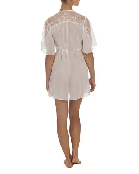 Anastasia Short Chiffon Robe