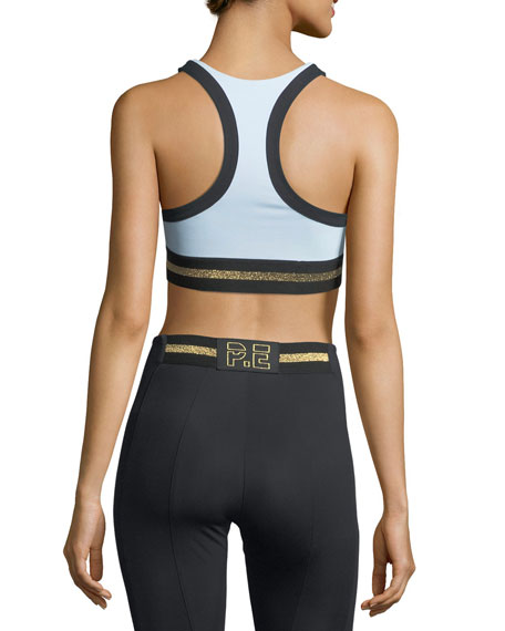 The Volley Graphic Performance Crop Top