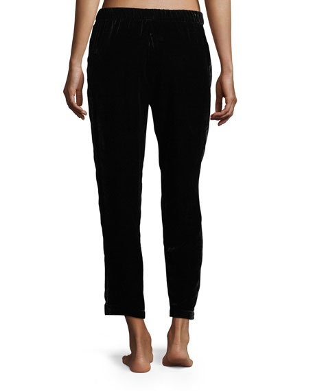 Luxe Velvet Slim Lounge Pants