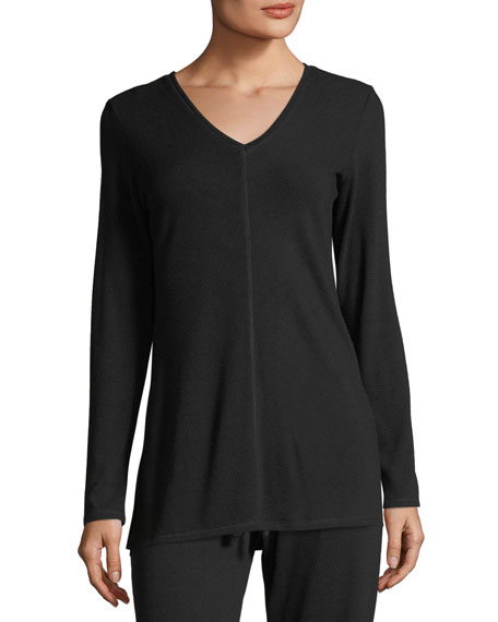 Natori Soul Long-Sleeve Lounge Top and Matching Items