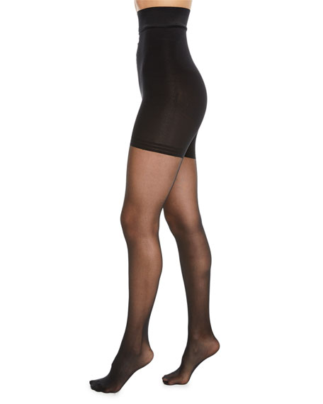 Donna Karan High-Waist Control-Top Tights