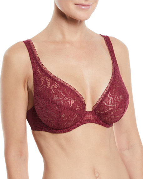 Maison Lejaby Flavor Full-Cup Lace Bra and Matching