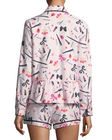 Brushed Twill Short Pajama Set