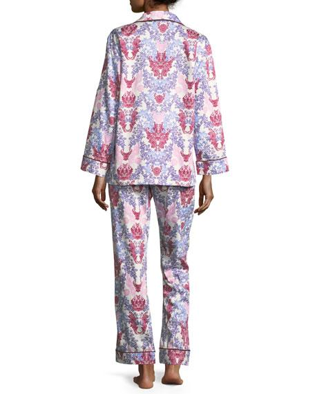 Chloe Long-Sleeve Pajama Set