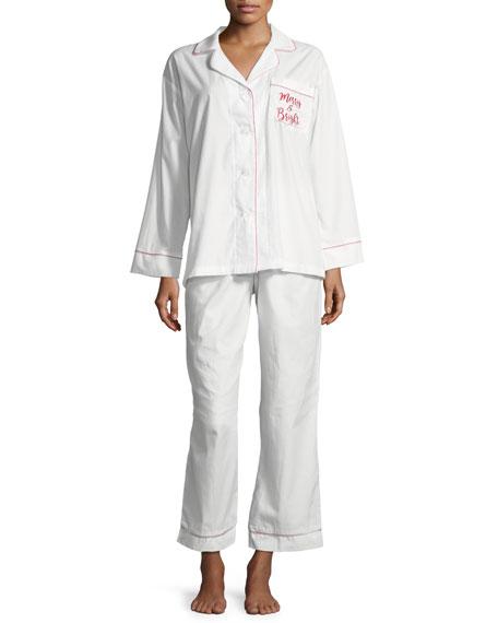 Merry and Bright Long Pajama Set