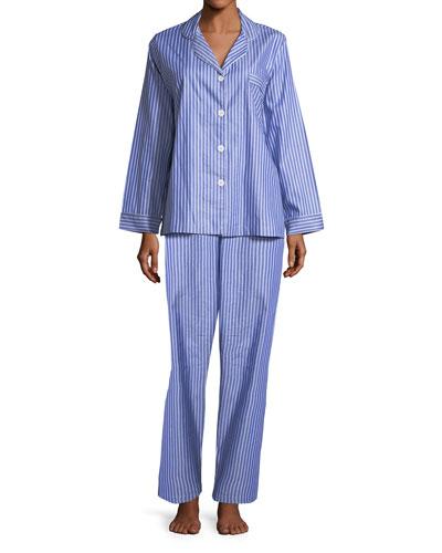 Carlyle Pinstriped Pajama Set