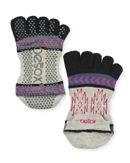 ToeSox Moons Grip Full Toe Socks