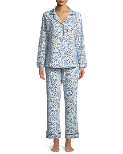 Mighty Jungle Long-Sleeve Classic Pajama Set, Plus Size