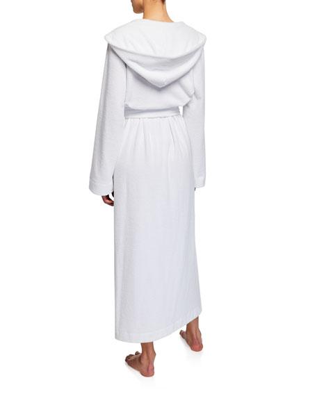 Hooded Plush Long Robe