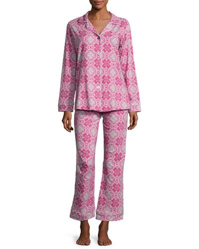Paisley Love Long-Sleeve Classic Pajama Set