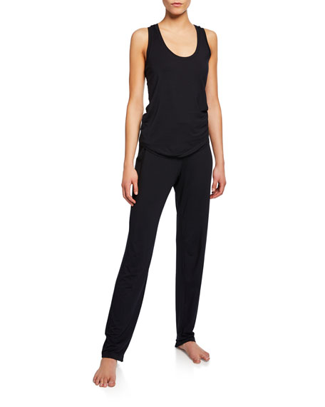 Yoga Fold Over-Waist Pants