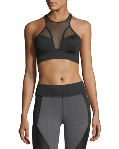 Avalon Mesh Sports Bra