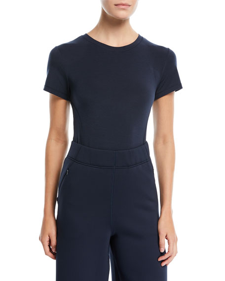 Nike Crewneck Short-Sleeve Training Bodysuit