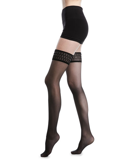 Wolford Courtney Stay-Up Thigh-Highs