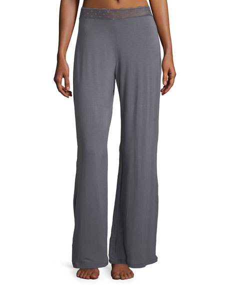 Cosabella Sweet Dreams Lace-Trim Lounge Pants