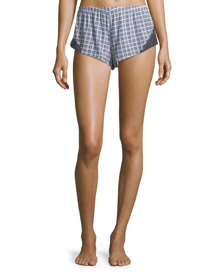 Sweet Dreams Geometric-Print Lounge Shorts