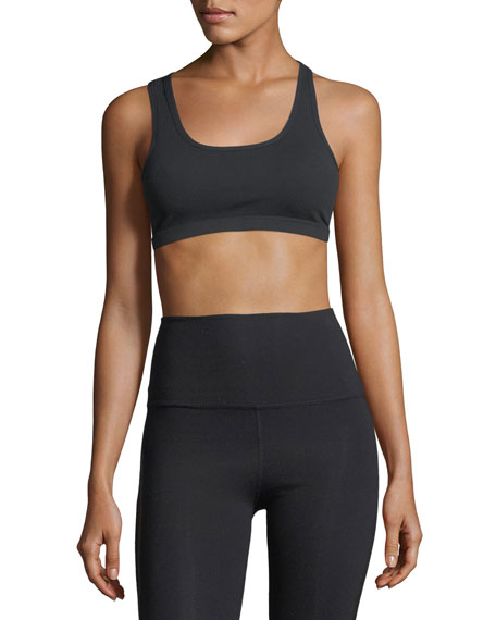 Beyond Yoga Levitate Medium-Support Strappy-Back Sports Bra