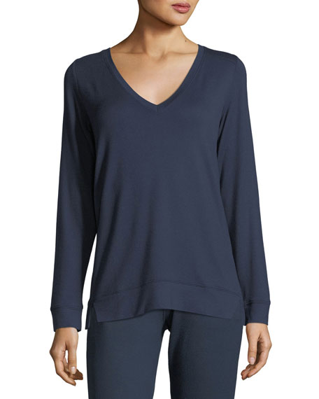 Fianna Long-Sleeve Lounge Top