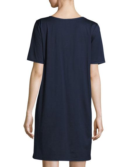 Cotton Deluxe Short-Sleeve Big Sleepshirt