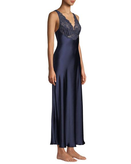 Bijoux Lace-Trim Nightgown