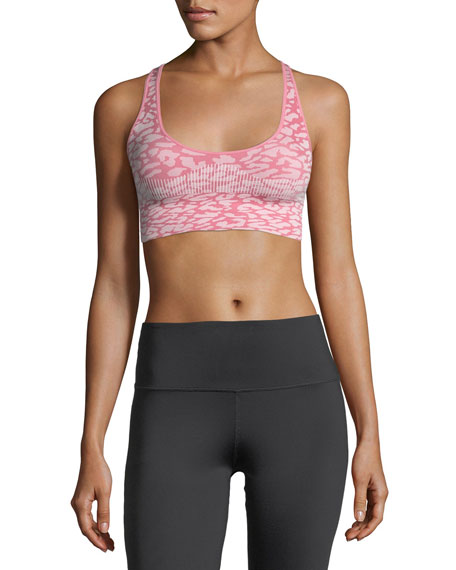 Pavilion Racerback Printed Performance Sports Bra