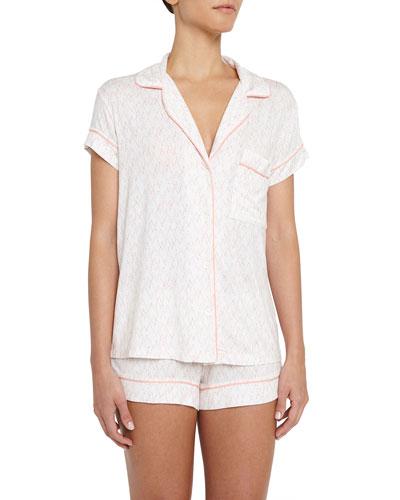 Sweet Heart Short Pajama Set