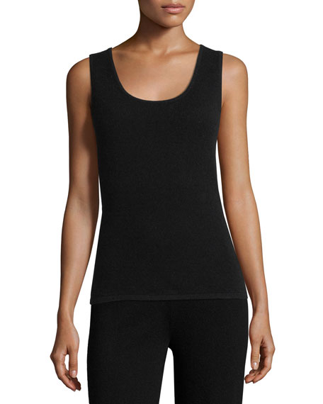 Neiman Marcus Cashmere Collection Cashmere Lounge Tank