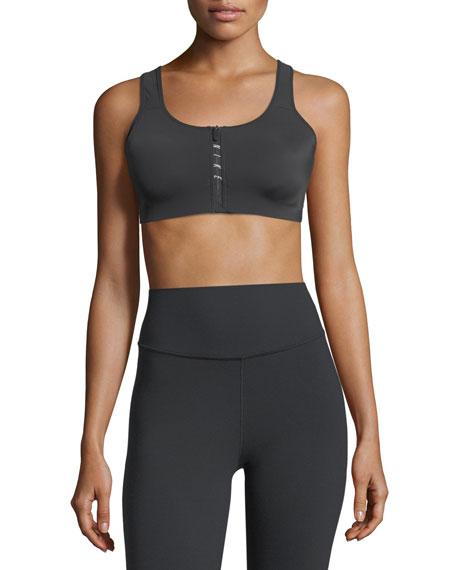 Nike Zip-Front Racerback Sports Bra