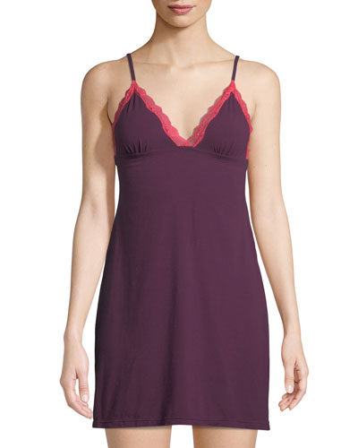 Giulietta Two-Tone Jersey Chemise