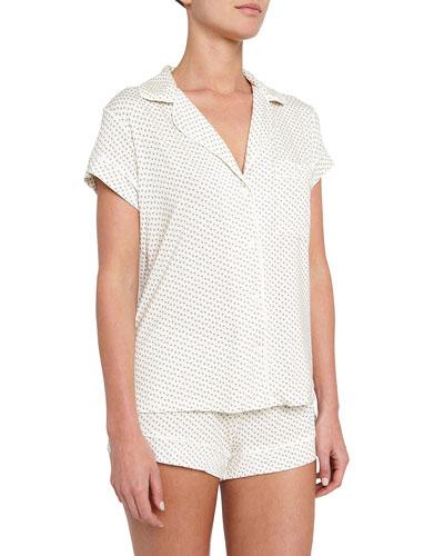 Flora Ditsy Short Pajama Set