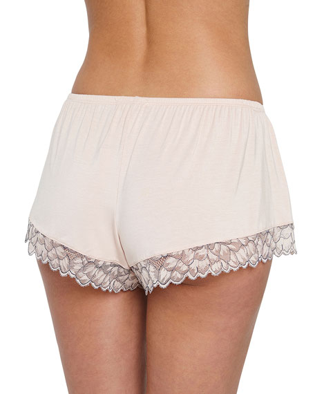 Rosario Lace-Trim Lounge Shorts