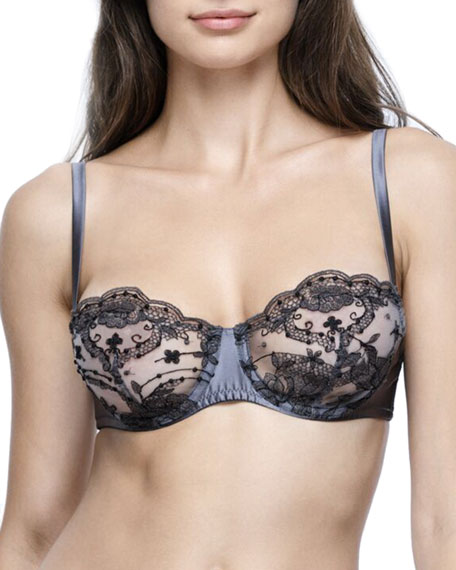 I.D. Sarrieri La Nymph Balconette Bra and Matching