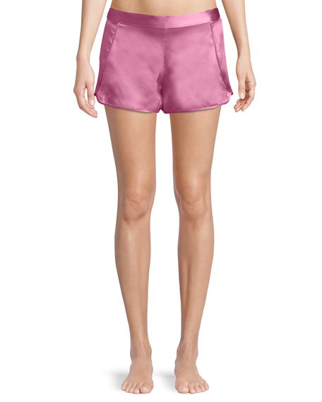 Key Essentials Silk Lounge Shorts