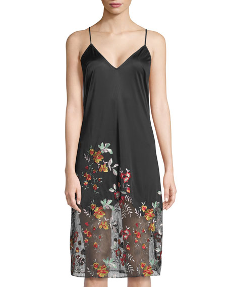 Saipan Embroidered Chemise