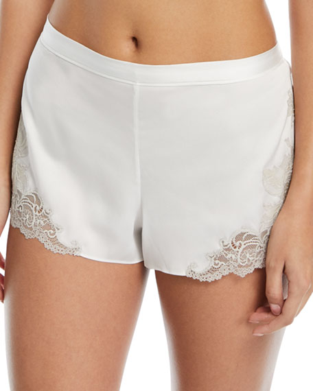 Chantilly Satin Lounge Shorts