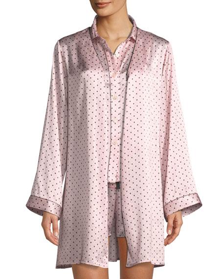 Starburst Langley Silk Robe