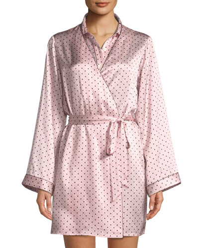 Starburst Langley Silk Robe