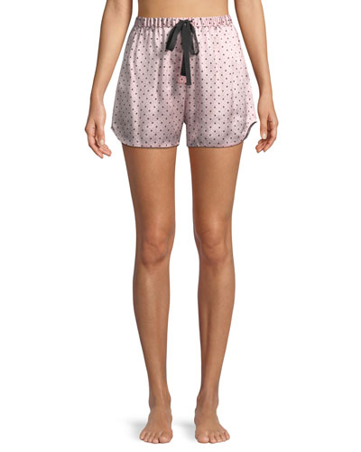Starburst Bea Silk PJ Shorts