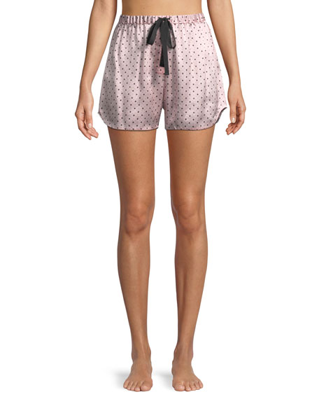 Morgan Lane Starburst Bea Silk PJ Shorts