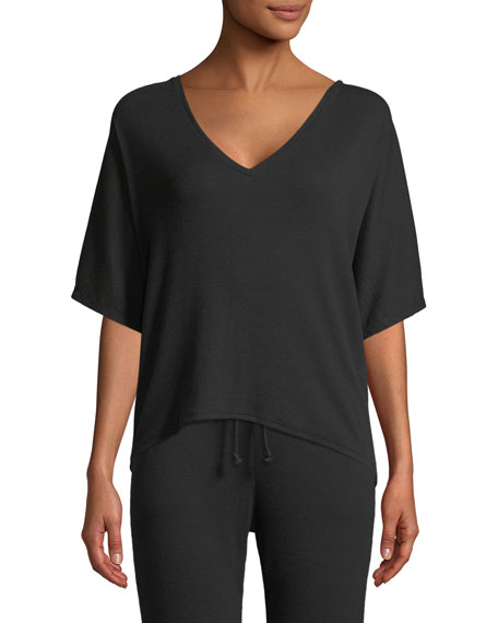 Skin Carlotte Half-Sleeve Lounge Top and Matching Items