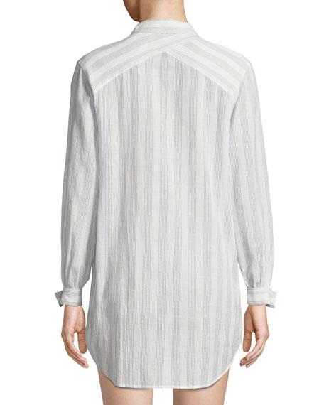 Ina Striped Sleepshirt