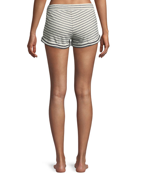 Clooney Striped Lounge Shorts