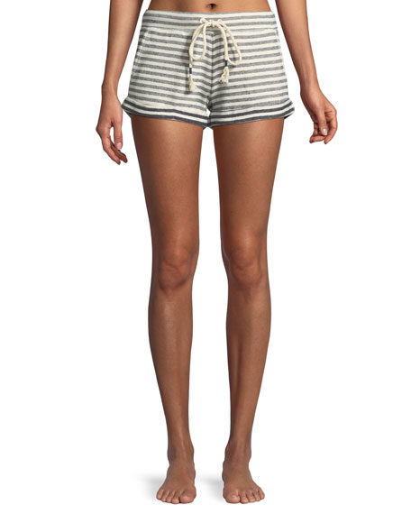 Skin Clooney Striped Lounge Shorts