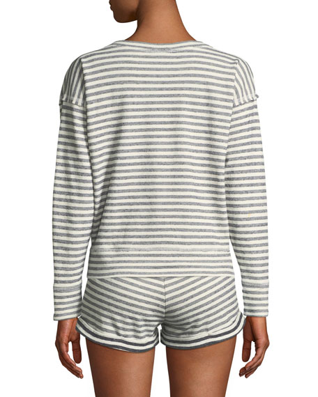Charlie Striped Sweatshirt