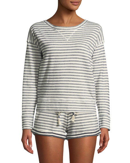 Skin Clooney Striped Shorts and Matching Items &