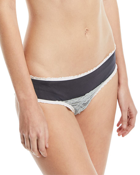 Gemma Lace-Front Hipster Briefs