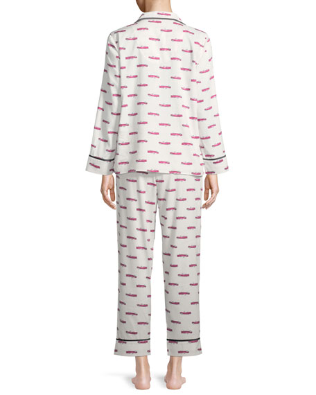 hot rod long pajama set