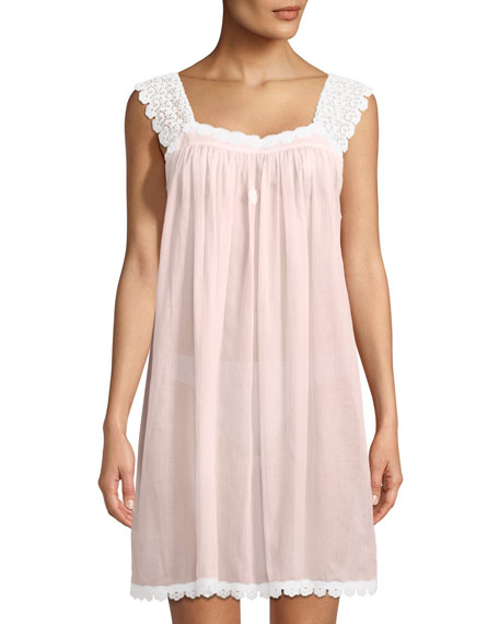 Celestine Donata Sleeveless Short Nightgown